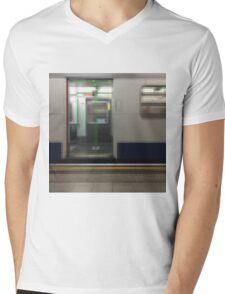 District Line Mens V-Neck T-Shirt