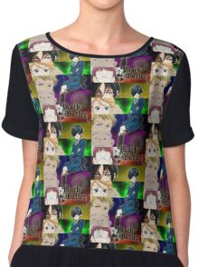 Black Butler - Ciel and his servants Chiffon Top