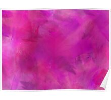 Purple Pink Blue Watercolor Paper Texture Background Poster