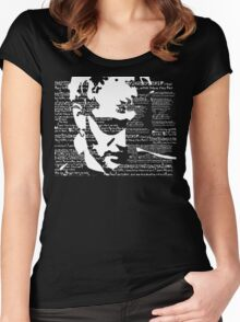 Layne Staley 'Junkhead' tee Women's Fitted Scoop T-Shirt