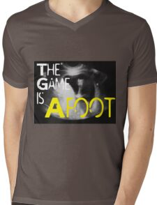 The Game is Afoot Mens V-Neck T-Shirt