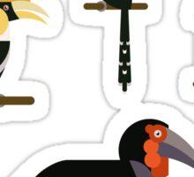 Hornbills Sticker