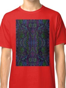 Psychedelic Abstract & Colourful 97 Classic T-Shirt