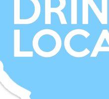 South Carolina Drink Local SC Blue Sticker