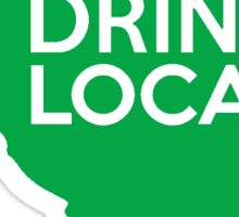 South Carolina Drink Local SC Green Sticker