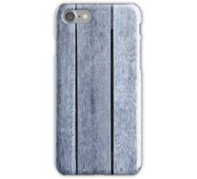 Weathered Wood Background Whitewashed Old Wooden Texture Pattern iPhone Case/Skin