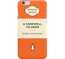 A Farewell To Arms Penguin Cover iPhone Case/Skin