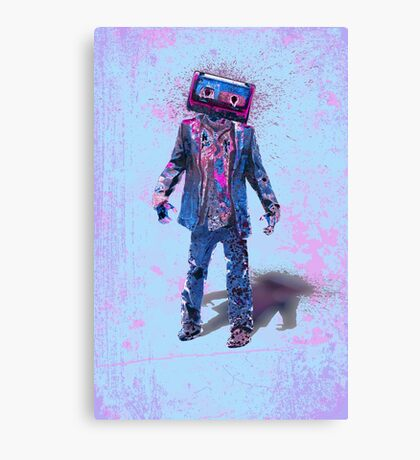 The Walking Tapes Canvas Print