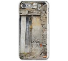 Door in Stone and Adobe Wall iPhone Case/Skin