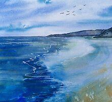 Tranquil Sea by Val Spayne