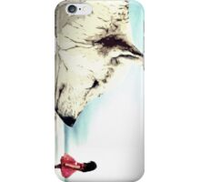 Girl and Wolf iPhone Case/Skin
