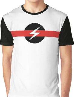 "Throbbing Gristle ""Flash"" T-Shirt Graphic T-Shirt"