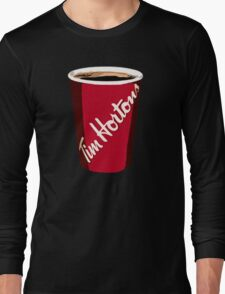Tim Horton's Cup Long Sleeve T-Shirt