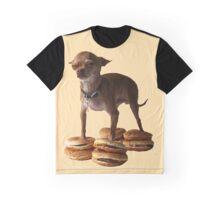 Doggie Burger Shoes Graphic T-Shirt