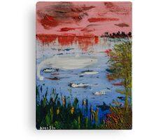 """""""Il primo squalo"""" Canvas Print"""