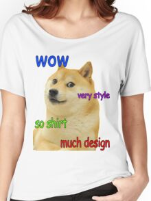 Doge design Women's Relaxed Fit T-Shirt