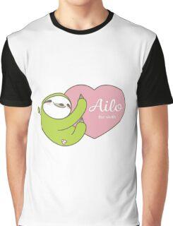 Ailo, Heart Graphic T-Shirt