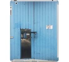blue door iPad Case/Skin