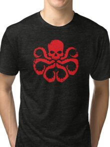 HYDRA Badge - Red Tri-blend T-Shirt