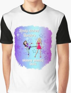 Sindy versus Barbie Graphic T-Shirt