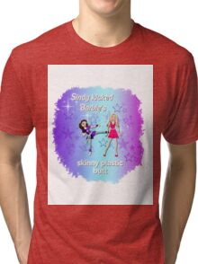Sindy versus Barbie Tri-blend T-Shirt