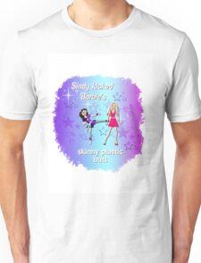 Sindy versus Barbie Unisex T-Shirt