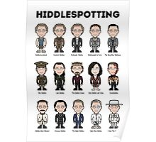 Hiddlespotting (poster/print) Poster