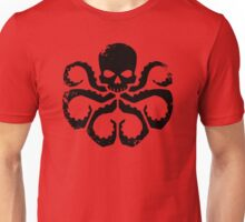 HYDRA Badge - Black Unisex T-Shirt