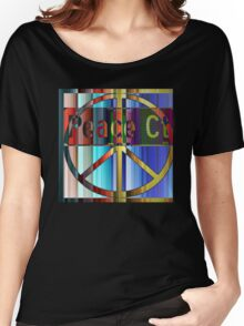 Peace Court Women's Relaxed Fit T-Shirt