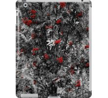 Red/Grey iPad Case/Skin