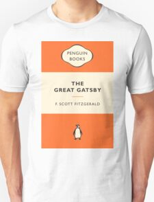 The Great Gatsby Penguin Cover T-Shirt