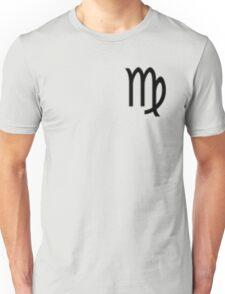 Virgo Zodiac Symbol Standard Unisex T-Shirt