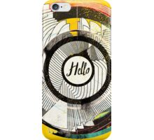 Hello Escher  iPhone Case/Skin