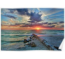 Suncoast Seascape Poster