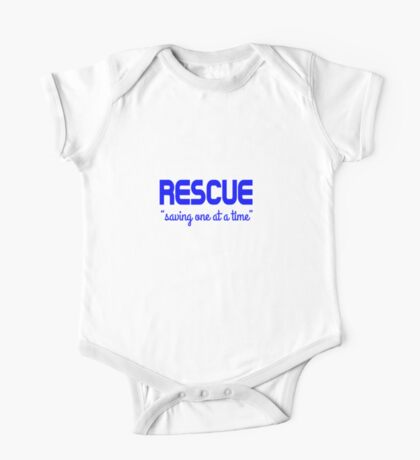Shelter Animal Rescue One Piece - Short Sleeve