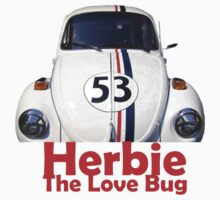 Herbie The Love Bug Baby Tee