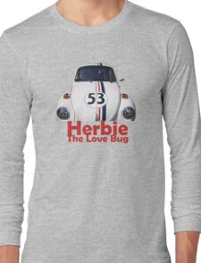 Herbie The Love Bug Long Sleeve T-Shirt