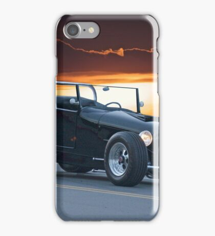 1927 Ford 'Track T' Roadster iPhone Case/Skin
