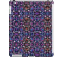 Purple Spider House Seamless Pattern iPad Case/Skin