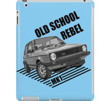 Old School Rebel Mk1 Retro Classic Cars Men's T-shirt. iPad Case/Skin