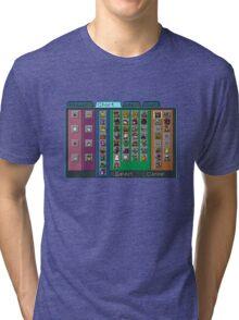 Digimon Chart Tri-blend T-Shirt