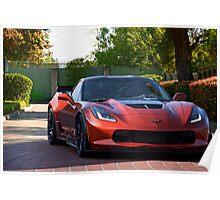 Corvette Stingray 'Shady Lady' Poster