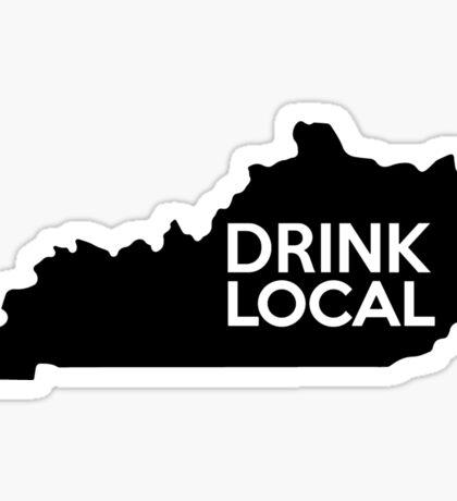 Kentucky Drink Local KY Sticker