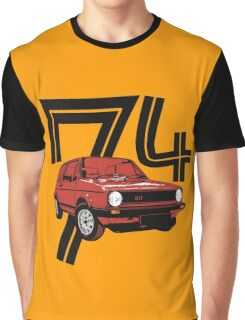 Retro 1970's gti hatchback car t-shirt Graphic T-Shirt