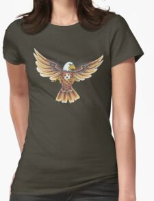 AMERICAN BALD EAGLE Womens Fitted T-Shirt