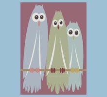OWL TRIO Kids Tee