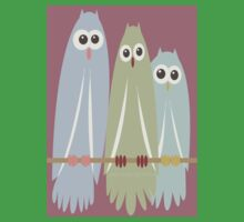OWL TRIO One Piece - Short Sleeve