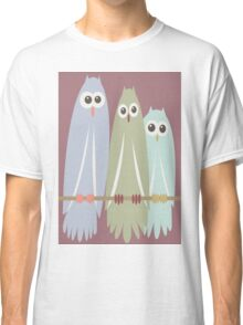 OWL TRIO Classic T-Shirt
