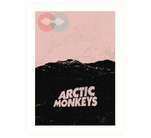 Arctic Monkeys AM Desert Poster Art Print