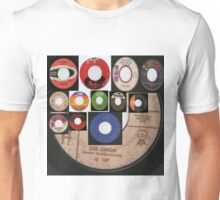 vintage 45's collage Unisex T-Shirt